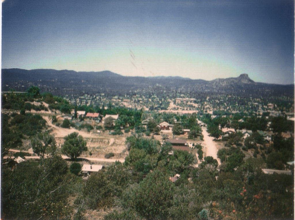 View of Prescott during the 70's