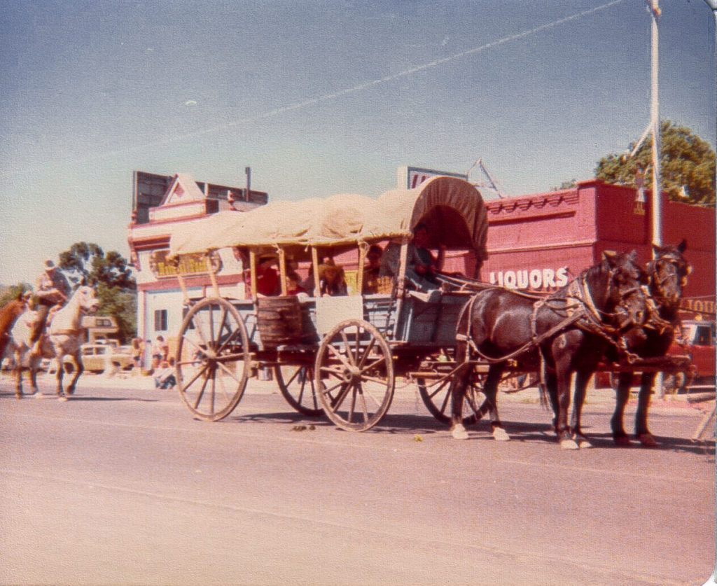 4th of July Parade Downtown Prescott AZ 1978